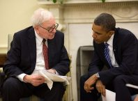 Warren Buffett a Barack Obama