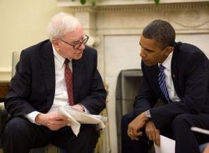 Warren Buffett a Barack Obama